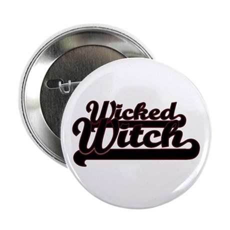 """Wicked Witch 2.25"""" Button (10 pack)"""