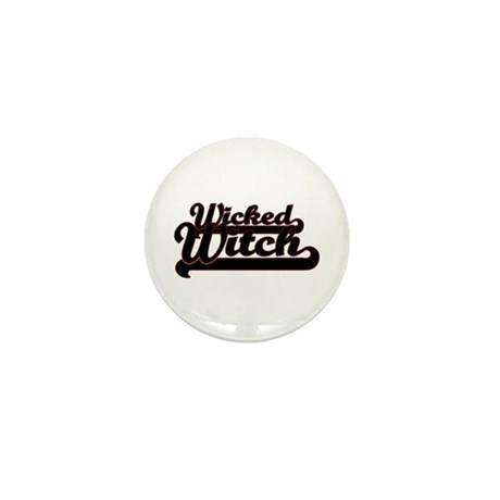 Wicked Witch Mini Button