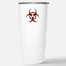 biohazard outbreak desi Stainless Steel Travel Mug