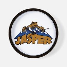 Jasper Bear Mountain Wall Clock