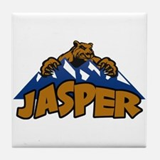 Jasper Bear Mountain Tile Coaster