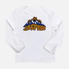 Jasper Bear Mountain Long Sleeve Infant T-Shirt