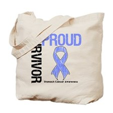 Proud Survivor Stomach Cancer Tote Bag