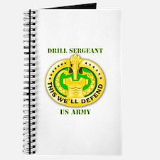 Army - Emblem - Drill Sergeant Journal