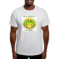 Army - Emblem - Drill Sergeant T-Shirt