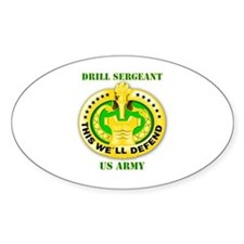 Army - Emblem - Drill Sergeant Decal