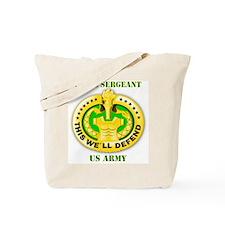 Army - Emblem - Drill Sergeant Tote Bag