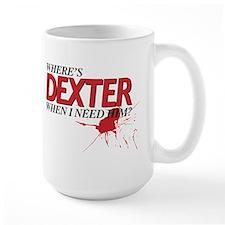 NEED DEXTER Mug