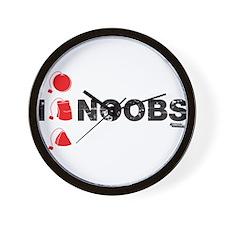 I Teabag Noobs Wall Clock