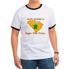 South Carolina is Bigger than France T