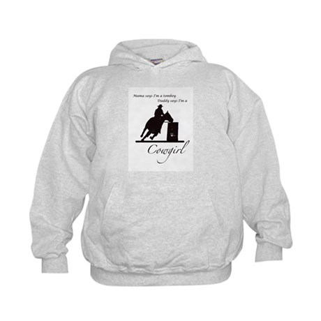 Daddy's Cowgirl Kids Hoodie