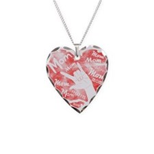 LOVE MY MOM - ASL Necklace Heart Charm