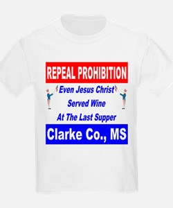 Repeal Prohibition Red Wine Is Healthy T-Shirt