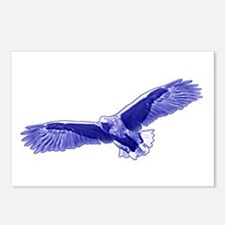 Indigo Eagle Postcards (Package of 8)