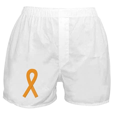 Orange Ribbon Boxer Shorts