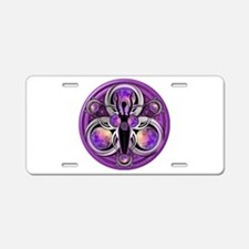 Goddess of the Purple Moon Aluminum License Plate