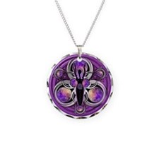 Goddess of the Purple Moon Necklace