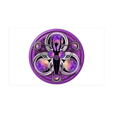 Goddess of the Purple Moon 38.5 x 24.5 Wall Peel