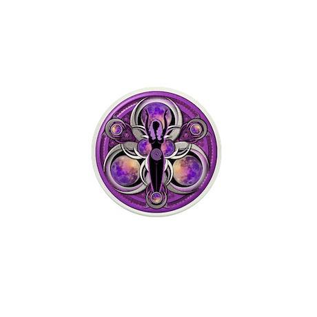 Goddess of the Purple Moon Mini Button (100 pack)