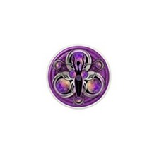 Goddess of the Purple Moon Mini Button