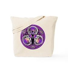 Goddess of the Purple Moon Tote Bag