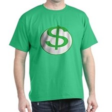 Dollar Sign, fun, T-Shirt
