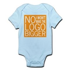 No Big Logos Infant Bodysuit