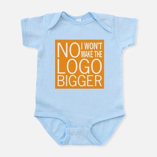No Big Logos Infant Bodysuit