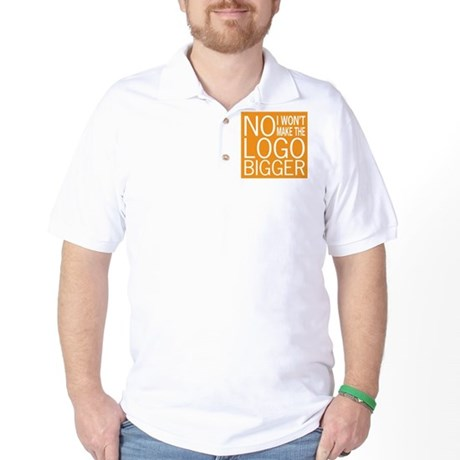 No Big Logos Golf Shirt