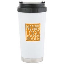 No Big Logos Thermos Mug