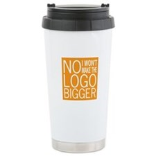 No Big Logos Travel Mug