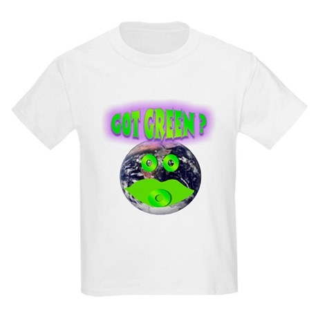 Got Green ? Kids Light T-Shirt