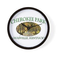 Cherokee Park Wall Clock
