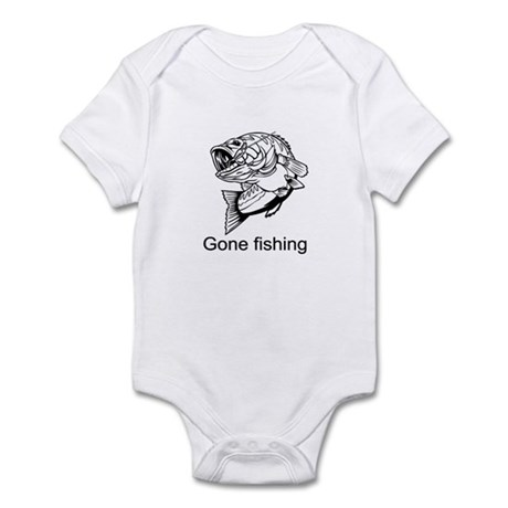 Gone fishing Infant Bodysuit