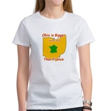 Ohio is Bigger than France Tee