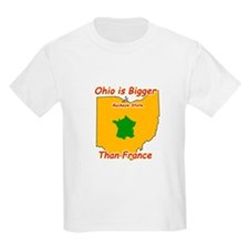 Ohio is Bigger than France T-Shirt