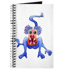 Freaky Blue Monkey Journal