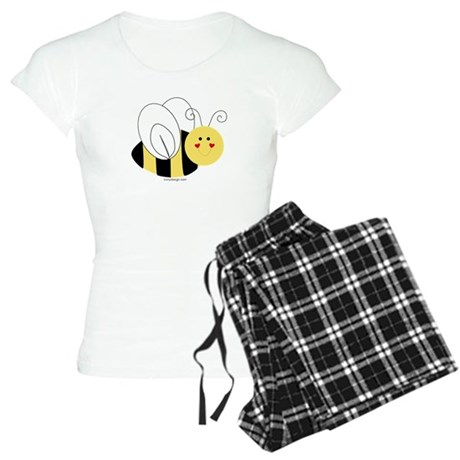 Cute Bee Women's Light Pajamas