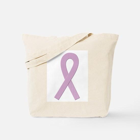 Lavender Ribbon Tote Bag