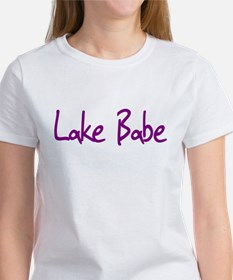 Lake Babe for Girls Who Love Women's T-Shirt