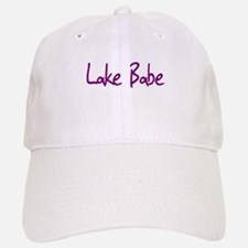Lake Babe for Girls Who Love Baseball Baseball Cap
