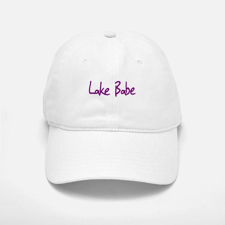 Lake Babe for Girls Who Love Baseball Baseball Cap