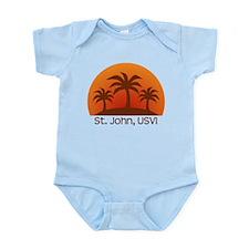 St. John, USVI Infant Bodysuit