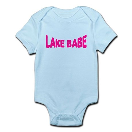Lake Babe for Girls Who Love Infant Bodysuit