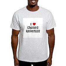 I * Chilies Rellenos Ash Grey T-Shirt