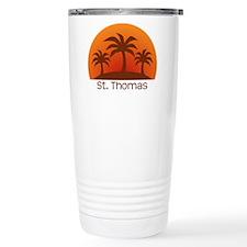 St. Thomas Stainless Steel Travel Mug