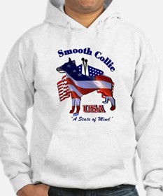 Smooth Collie Gifts Jumper Hoody