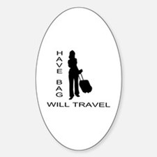 Have Bag, Will Travel Decal