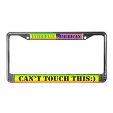 Mens shorts License Plate Frame
