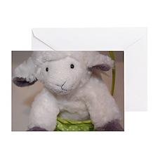 Lamb Easter Greeting Card